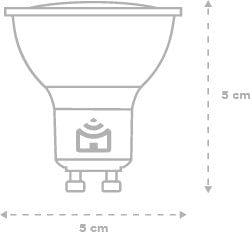Smart Lâmpada Spot Wi-Fi